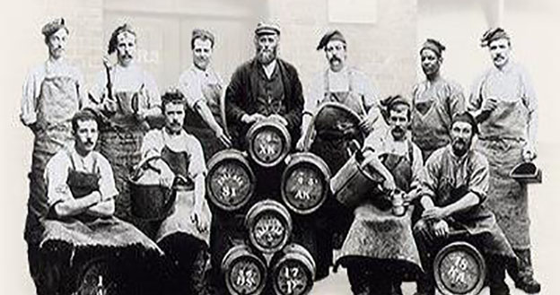 Discover the story of Fuller's Griffin Brewery